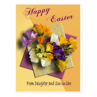 Happy Easter Greetings from Daughter Post Card