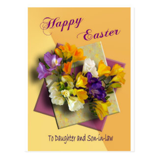Happy Easter Greetings to Daughter Post Card