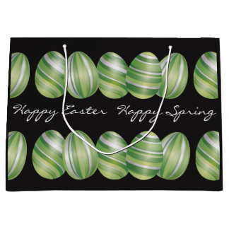 Happy Easter Happy Spring Large Gift Bag