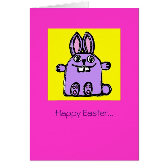 Happy Easter Hunny Bunny! Card