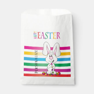Happy Easter Jelly Bean Bunny Favour Bags