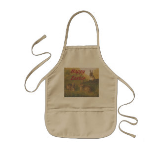 Happy Easter Kids Apron