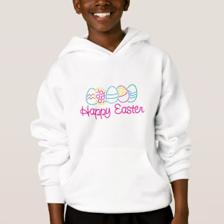 Happy Easter KIds Hooded Sweatshirt