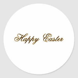 Happy Easter l Gold The MUSEUM Zazzle Gifts Sticker