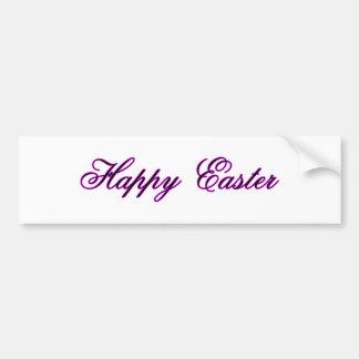 Happy Easter l Magenta The MUSEUM Zazzle Gifts Bumper Sticker