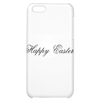Happy Easter l White The MUSEUM Zazzle Gifts iPhone 5C Covers