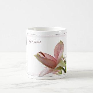 Happy Easter Lily Basic White Mug