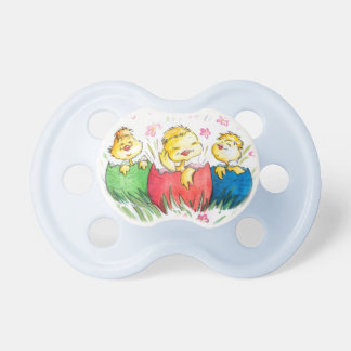 Happy Easter Little Chicks Pacifier