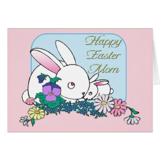 Happy Easter Mom Card