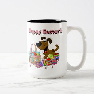 Happy Easter! Two-Tone Mug