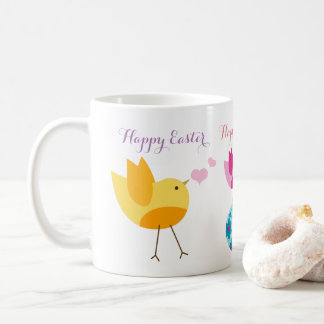 Happy Easter Mug easter egg with bird