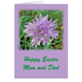 Happy Easter Mum and Dad Greeting Card