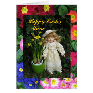 Happy Easter Mum Greeting Card