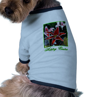 Happy Easter o Green Tiger Lily The MUSEUM Zazzle Dog Clothes