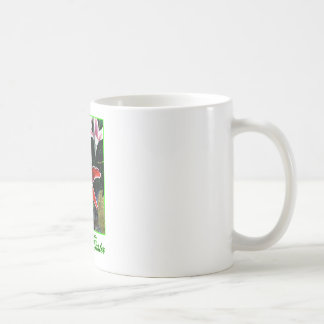 Happy Easter o Green Tiger Lily The MUSEUM Zazzle Coffee Mugs