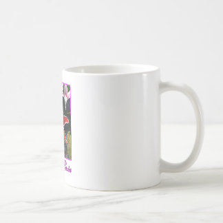 Happy Easter o Magenta Tiger Lily The MUSEUM Zazzl Coffee Mugs