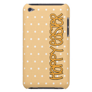 Happy Easter orange iPod Touch Case-Mate