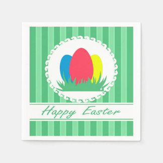 Happy Easter Paper Napkin