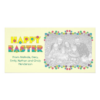 Happy Easter Personalised Photo Card