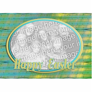 Happy Easter photo frame Acrylic Cut Outs