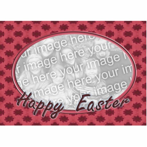 Happy Easter photo frame Acrylic Cut Out