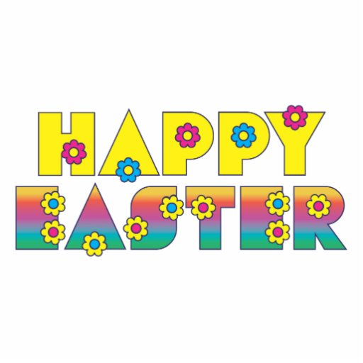 Happy Easter Photo Cutout