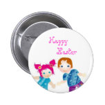 happy easter pin