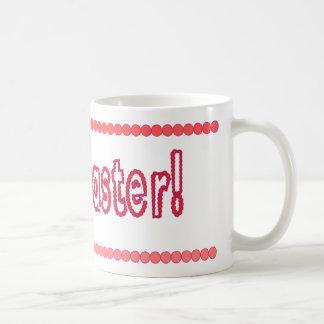 Happy Easter pink beads Basic White Mug