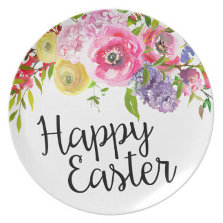 Happy Easter Plate