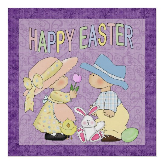 Happy Easter Poater Poster