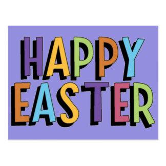 Happy Easter Postcard