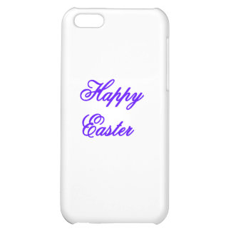 Happy Easter Purple The MUSEUM Zazzle Gifts Cover For iPhone 5C