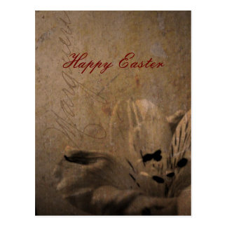 Happy Easter Rainy Monday Postcard