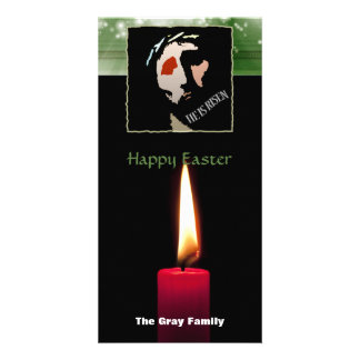 Happy Easter Religious Jesus Bible Verse Quote Photo Cards
