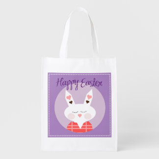 Happy Easter Reusable Grocery Bag