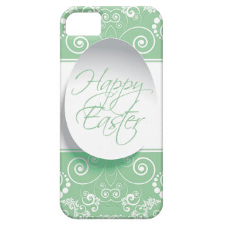Happy Easter Ribbon (Green) iPhone 5 Covers