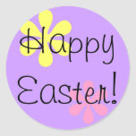 Happy Easter! Round Stickers