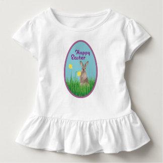 Happy Easter Ruffle Shirt