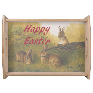 Happy Easter Serving Tray