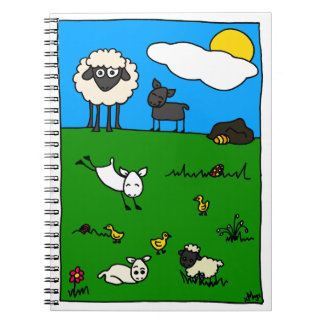 Happy Easter! Spiral Notebook
