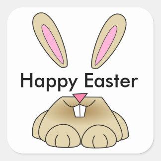 Happy Easter Square Sticker