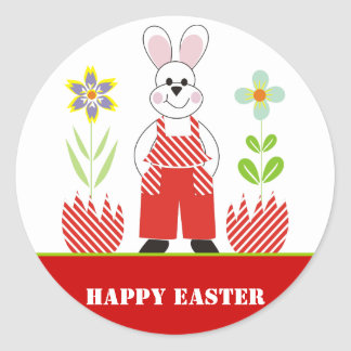 Easter eggs stickers zazzle happy easter stickers negle Image collections