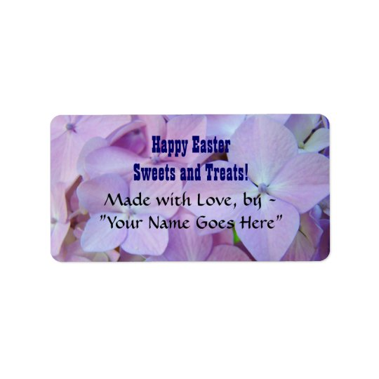 Happy Easter! stickers labels Sweets & Treats