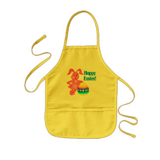 Happy Easter T shirts and Gifts Kids Apron
