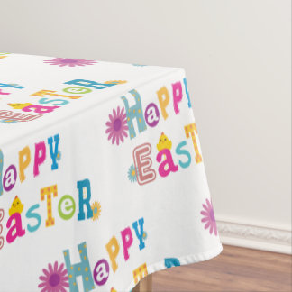 Happy Easter Table cloth
