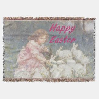 Happy Easter Throw Blanket