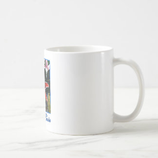 Happy Easter Tiger Lily b Blue The MUSEUM Zazzle G Mug