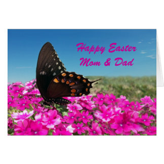 Happy Easter to Mom and Dad Greeting Card