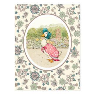 Happy Easter. Vintage Design Easter Postcards Postcard