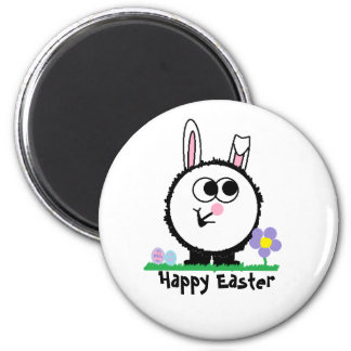 Happy Easter Weeble Magnet